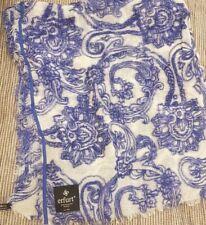 Erfurt Scarf 100% Wool Blue BNWT