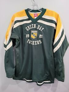 Reebok NFL Green Bay Packers Throwback Jersey Woodson 21 LS Shirt Youth XL