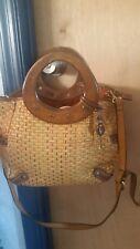 large fossil handbag, shoulder bag