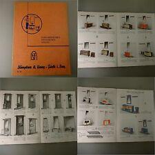 Katalog Art Deco Dielen-Garnituren Garderoben Spiegel um 1930 (43432)