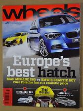 Wheels Feb 2013 BMW M135i Renault Megane RS265 Holden Colorado LTZ Ford Ranger