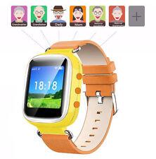 Q60 Kids GPS Activity Safety Tracker SOS Call Children Anti-lost Smart Watch UK