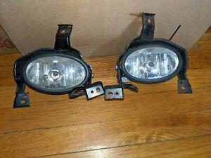 For 2010-2011 Honda CR-V CRV Clear Bumper Fog Lights OEM