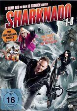 Sharknado Teil 1-6 | 11 Filme Box | Asylum Highlights | 5 DVDs | [FSK16] DVD