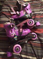 Tinkerbell Beginner Roller Skates J6-J9 Size