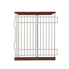 Richell Expandable Pet Crate Divider Small Dark Brown 94352