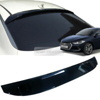 39_Smoke Rear Window Roof Lip Spoiler Visor K984 For HYUNDAI 2017 ~ 2019 Elantra