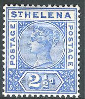 St Helena 1890 ultramarine 2.5d very fine mint SG50