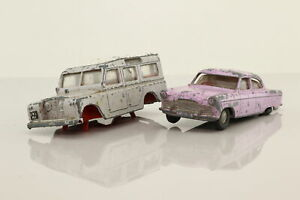 Spot-On; Bargain Box; Land Rover & Ford Zodiac; Damaged Unboxed