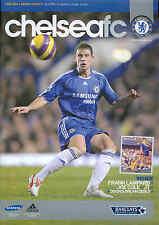 Chelsea V Derby County-Premiership - 12/3/08 - programma di calcio