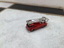 Husky Models Bedford Simon Snorkel Tower Fire Engine Model - Corgi Juniors Toys