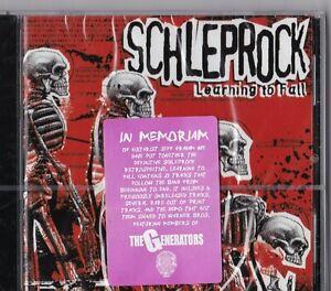 """CD - SCHLEPROCK - LEARNING TO FALL  """" NEU in OVP VERSCHWEISST #M120#"""