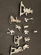 Big Lot Of 10 Metal Figures, 1970s-80s D&D minis