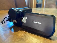 Medion Life Camcorder Full HD MD 85910 Videokamera plus Zubehörpaket