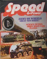 Speed & Power magazine 17 May 1974 Issue 9