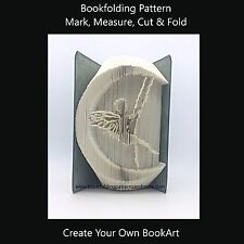 Book Folding Pattern - Cut & Fold - Fairy 3