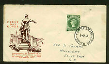 1955 QUEEN VICTORIA WESLEY CACHET FDC PENNESHAW, SA  SC#285 SG#288