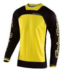 Troy Lee Designs Boldor TLD MX SE Pro Motocross Jersey Yellow Black Adults