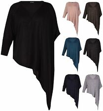 Stretch V Neck Batwing Tops & Shirts for Women