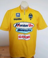 Sms Santini Cycling Jersey Italy yellow BIANCHI GIRMI Mangniflex XL