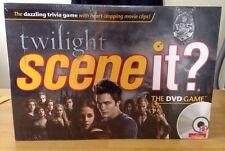 NIB Mattel Twilight Scene It DVD Trivia Board Game With Movie Clips - 2009