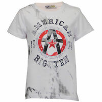 boys t shirt kids top short sleeved American print crew neck summer casual new