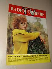 RADIOCORRIERE TV 1965/7=LIANA ORFEI=ODOARDO SPADARO=ROBERTO ROSSELLINI=
