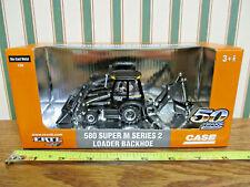 Case 580 Super M Series 2 Loader/Backhoe 50th Anniversary Black Edition By Ertl>