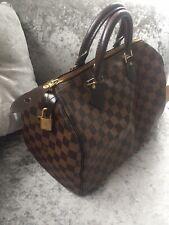 Louis vuitton Damier speedy 30 Handbag With Keys And Padlock