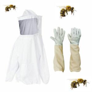 Tuta protettiva apicoltore con cappello rotondo velo +Guanti