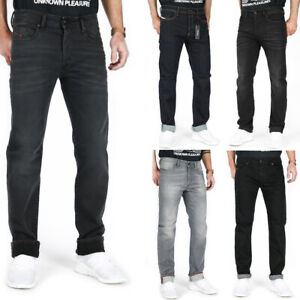 Diesel Buster Herren Regular Slim Fit Stretch Jeans Hose Schwarz Grau Blau