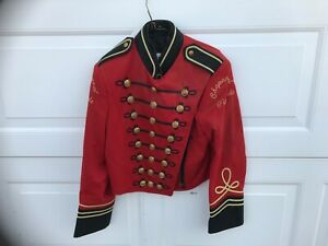 Stanbury High School Marching Band Jacket red black Chaparral