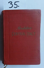 Baedeker central Italy 1909 (W.)