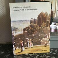 Catálogo 30 Librería El Talla de La Monde Libros Antiguos Y Moderno 1981