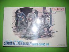 GERMAN FALLSCHIRMJAGER (CASSINO 1944) FIGURES BY DRAGON 1/35 - REF.6005