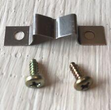 TECHNICS 1200 1210 viti x 2 Pitch Pop Up REG Clamp Power Chord Plate Sl1210