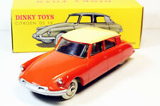 1/43 DINKY TOYS Citroen DS 19 Orange éditions Atlas 24CP 24C