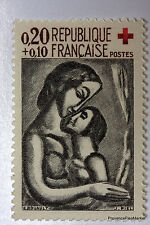 Yt 1323 CROIX ROUGE ROUAULT     TIMBRE NEUF **  LUXE FRANCE  1° CHOIX