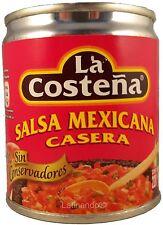 Rote mexikanische Sauce - Salsa Mexicana Roja - LA COSTEÑA - 220g
