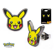 Pokemon Pikachu Stud Earrings Electric Type Pokemon Go - Officially Licensed
