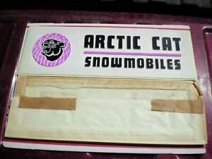 vintage arctic cat advertising signs