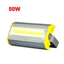 50W COB LED Outdoor Flood Light Fixture Waterproof Lamp Building Exterior Tunnel