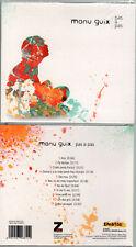 """MANU GUIX """"Pas a Pas"""" (CD Digipack) 2012 NEUF"""