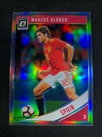 2018-19 Panini Donruss Optic Soccer Marcos Alonso Spain Chelsea #166 Holo