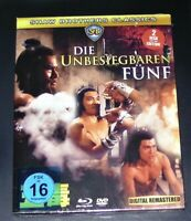 La Unbesiegaren Cinq Uncut Shaw Brother Classics blu ray + DVD Dans Coffret Neuf
