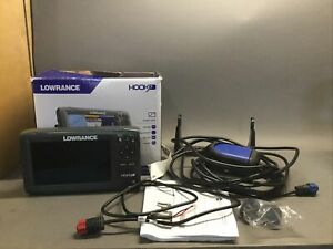 Lowrance Hook7 Hook 7 HDI Transducer Fish Finder 7 Inch Display