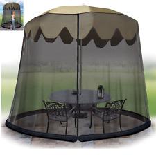 Umbrella Patio Screen Outdoor Yard Garden Mosquito Bug Insect Tent Net Mesh Lawn