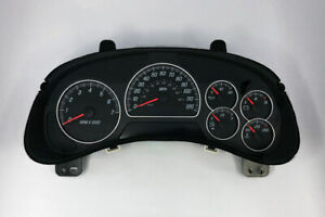 2002 2003 2004 GMC Envoy XL Speedometer Gauge Cluster WITHOUT Info Center DIC
