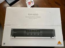 More details for behringer nx4-6000