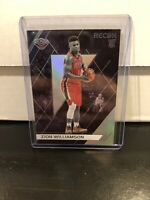 ZION WILLIAMSON 2019-20 CHRONICLES RECON BASKETBALL RC CARD #292- PELICANS